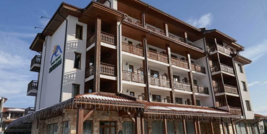 1 bedroom SPA apartment 100 m from ski Mountain Dream